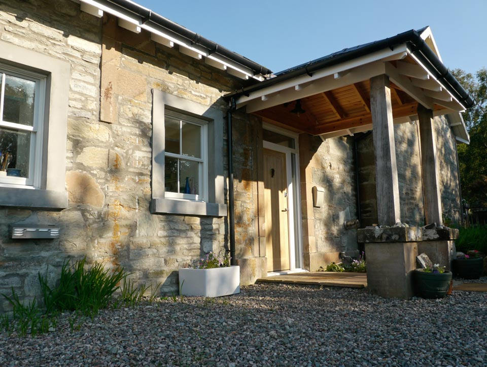 Residential building project by D Carmichael & Sons building contractors based in Appin, Argyll